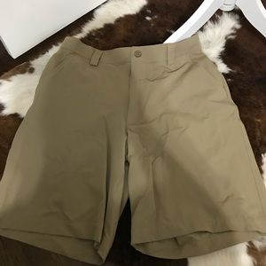 Under armour flat front casual shorts